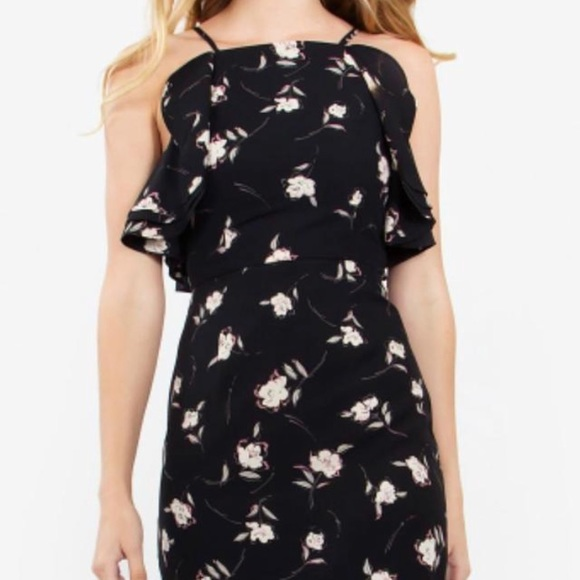 Sugarlips Dresses & Skirts - Ruffle floral dress